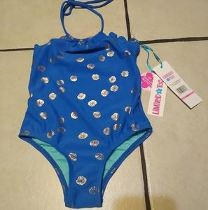 NWT Limited Too blue swimsuit *firm price*